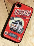 KOOLART PETROLHEAD SPEED SHOP Retro Old Skool BMW 2002 Hard Case Cover For iPhone 4 4s